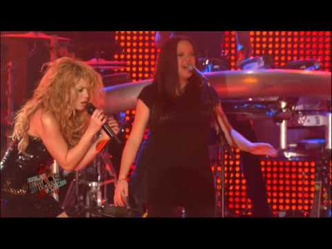 Shakira - Did It Again - Energy Stars For Free 09 (Zurich) HD