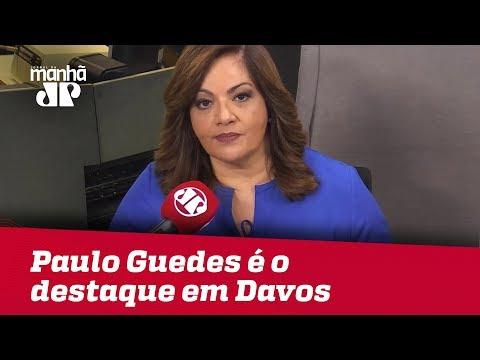 Paulo Guedes é o destaque brasileiro em Davos | #DeniseCamposdeToledo