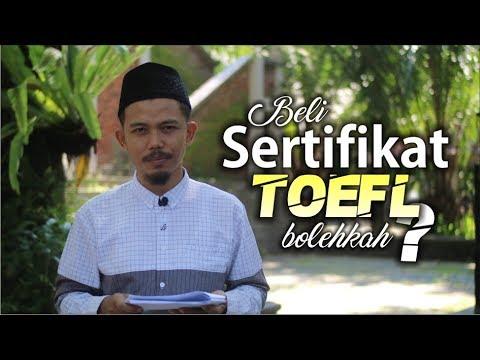 Download BOLEHKAH MEMBELI SERTIFIKAT TOEFL?