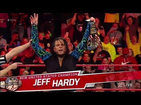 Jeff Hardy NUEVO Campeón de los Estados Unidos convirtiéndose en GRAND SLAM CHAMPION