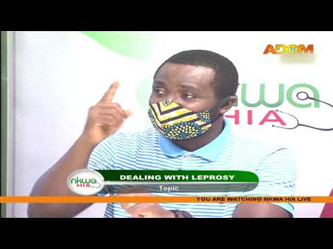 Dealing with Leprosy – Nkwa Hia on Adom TV (18-7-20)