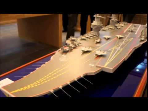 Russia Developing Shtorm Supercarrier