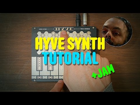 Hyve Synth Tutorial - 60 poly analog portable synth