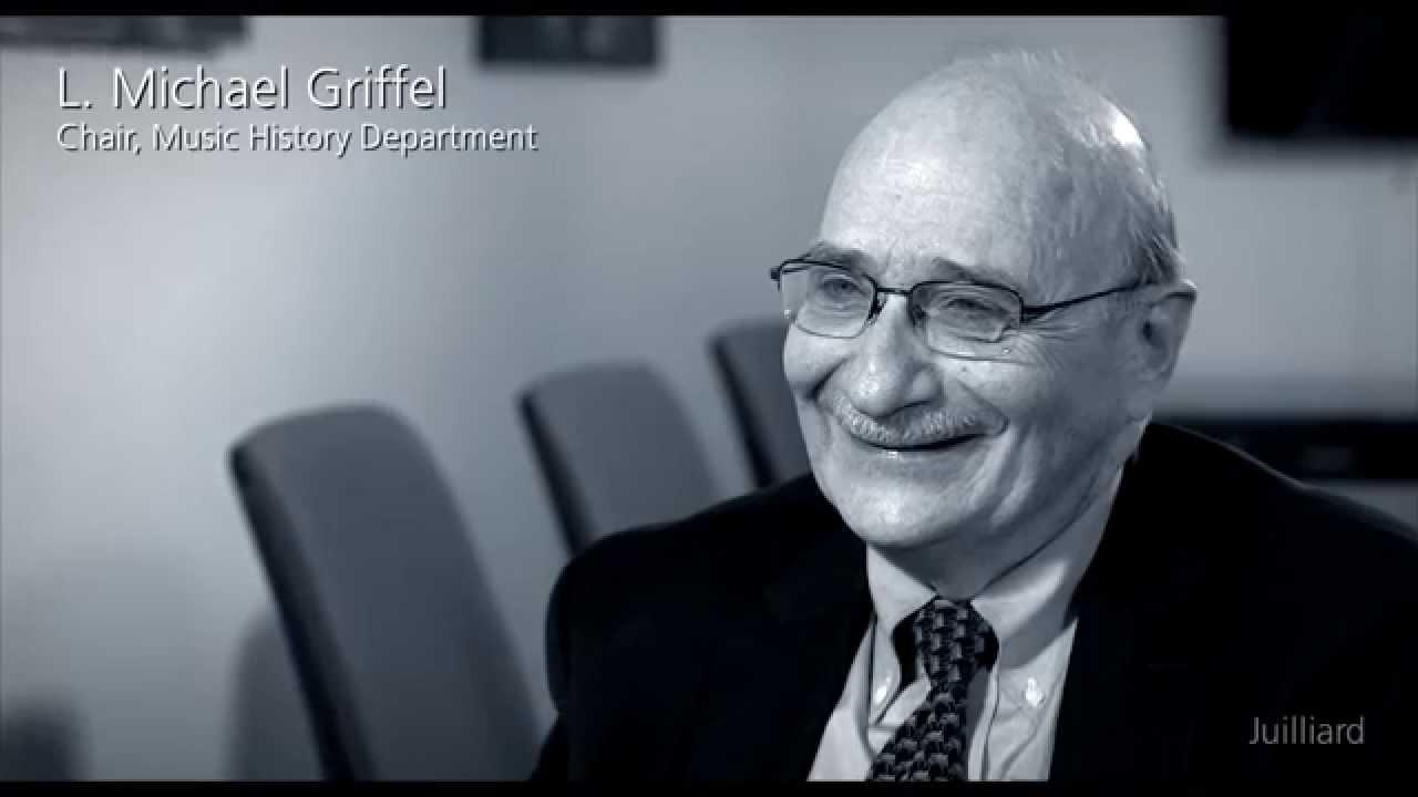Juilliard Snapshot: L. Michael Griffel