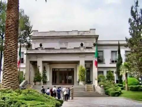 Los pinos residencia oficial del presidente de la rep blica m xico youtube - Casa los pinos ...