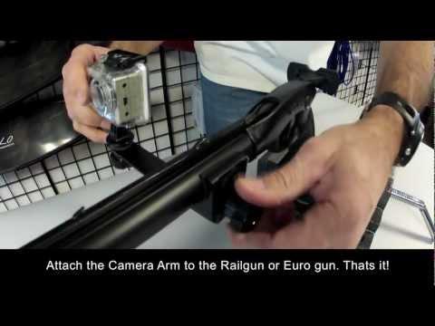Speargun Rapid On/Off Camera Bracket Installation