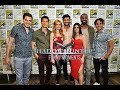 Shadowhunters Cast ×× Comic Con 2017 (Funny moments)