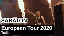 SABATON - European Tour 2020 (Trailer)