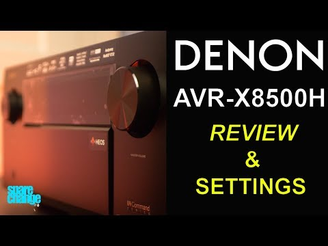 Denon AVR-X8500H Review   13.2 Channel Receiver and Settings