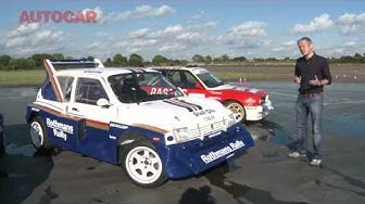 Metro 6R4 video review by autocar.co.uk