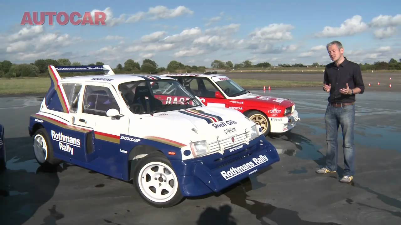 Metro 6R4 video review by autocar.co.uk - YouTube