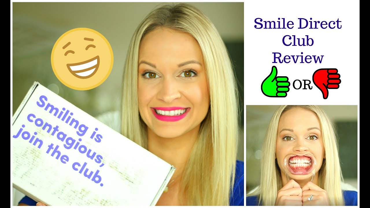 Review Youtube 2020  Smile Direct Club Clear Aligners
