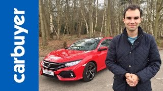 Honda Civic hatchback 2017 review - James Batchelor - Carbuyer