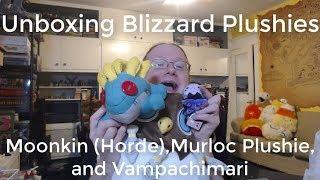 Unboxing Blizzard Moonkin Horde Murloc Plushie And Vampachimari