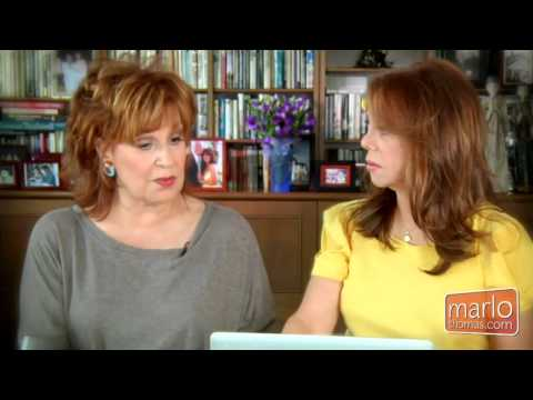 Joy Behar With Marlo Thomas