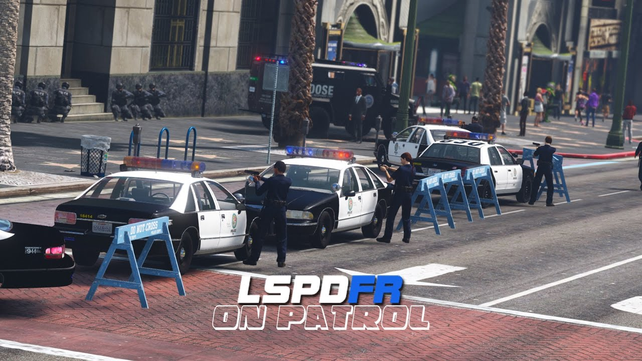 LSPDFR - Day 375 - 1990's Bank Robbery