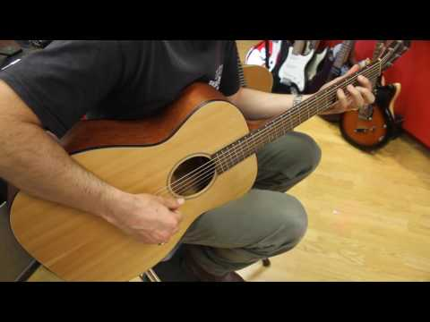Breedlove Passport om sm accoustic guitar