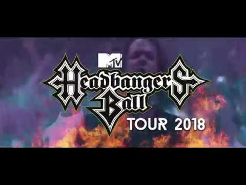 MTV Headbanger's Ball 2018 - Headliner announced!