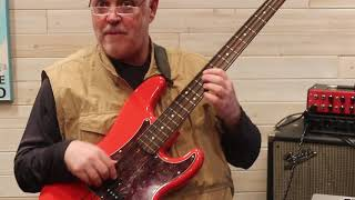 Real Bass Lessons 120 - Technique, A Major #1