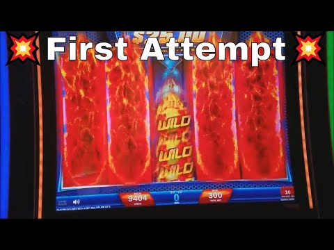 ★ ?First Attempt? ★ $700 Live Play at WILD FURY JACKPOTS (IGT) Slot Machine - 동영상
