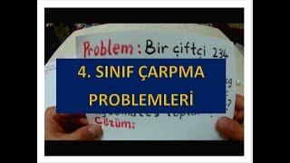 4  SINIF ÇARPMA PROBLEMLERİ