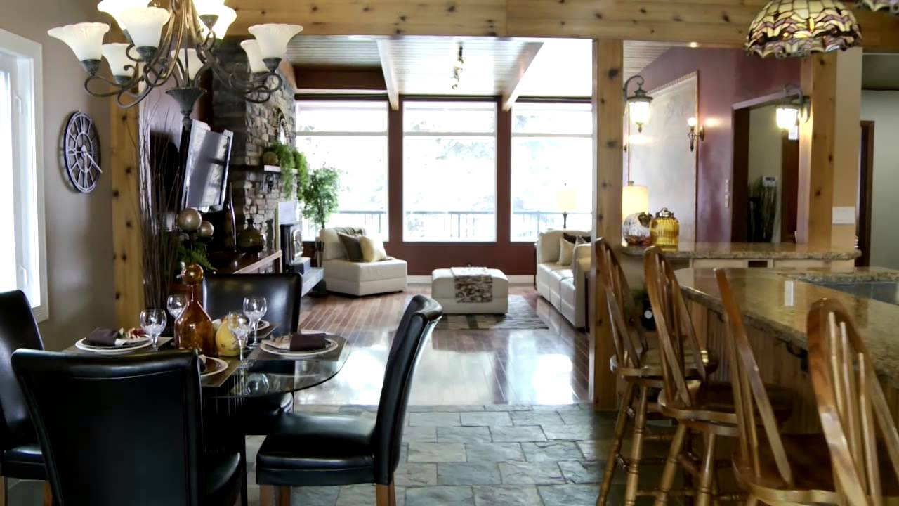chalet style home in st albert staged by simply irresistible interiors youtube. Black Bedroom Furniture Sets. Home Design Ideas