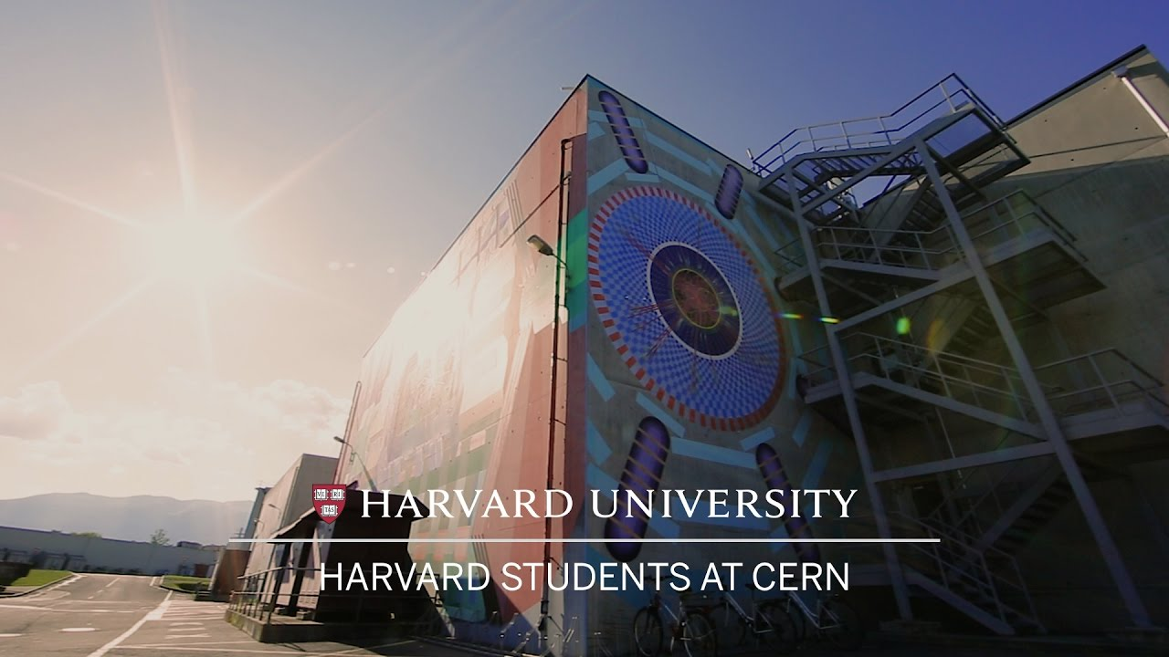 Harvard students pick up particle physics at CERN collider