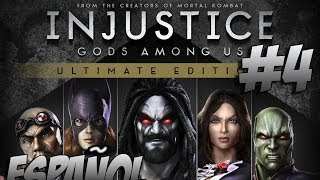 Injustice: Gods Among Us Ultimate Edition - Modo Historia - Capítulo 4 - Gameplay PC/PS4 - Español