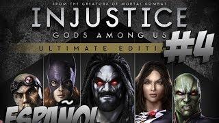 Injustice: Gods Among Us Ultimate Edition - Modo Historia - Capítulo 4 - Gameplay PC/PS4 - Español