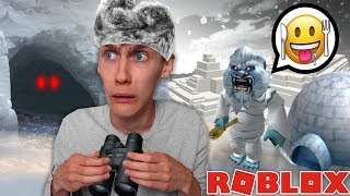 THE YETI REALLY EXISTS! Roblox