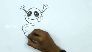How to Draw a Kiddy Alien