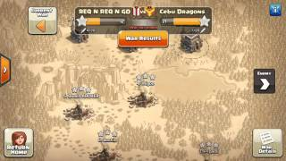 Clash Of Clans | How To Level Up Your Req N Go Clan Fast | Easy War Stars