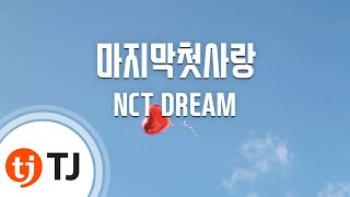 [TJ노래방] 마지막첫사랑 - NCT DREAM / TJ Karaoke
