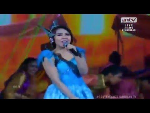 VIA VALLEN - MINYAK WANGI (Versi DJ) Live 1001 Kisah 23 Tahun ANTV