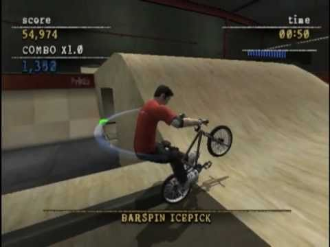 Mat Hoffman's Pro BMX 2 (PS2 Gameplay)