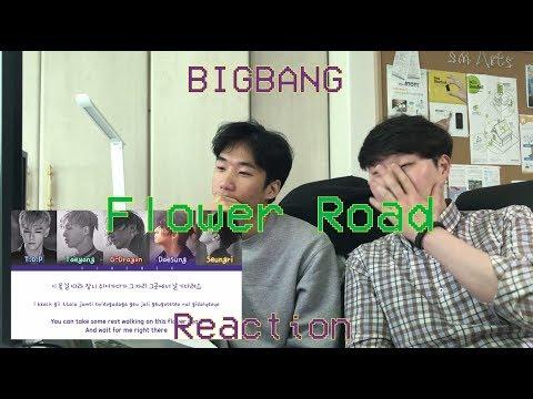 [Audio Reaction] Bigbang - Flower Road Reaction / little bit of Korean lessons...!