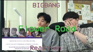 [Audio Reaction] Bigbang - Flower Road Reaction / little bit of Korean lessons...!
