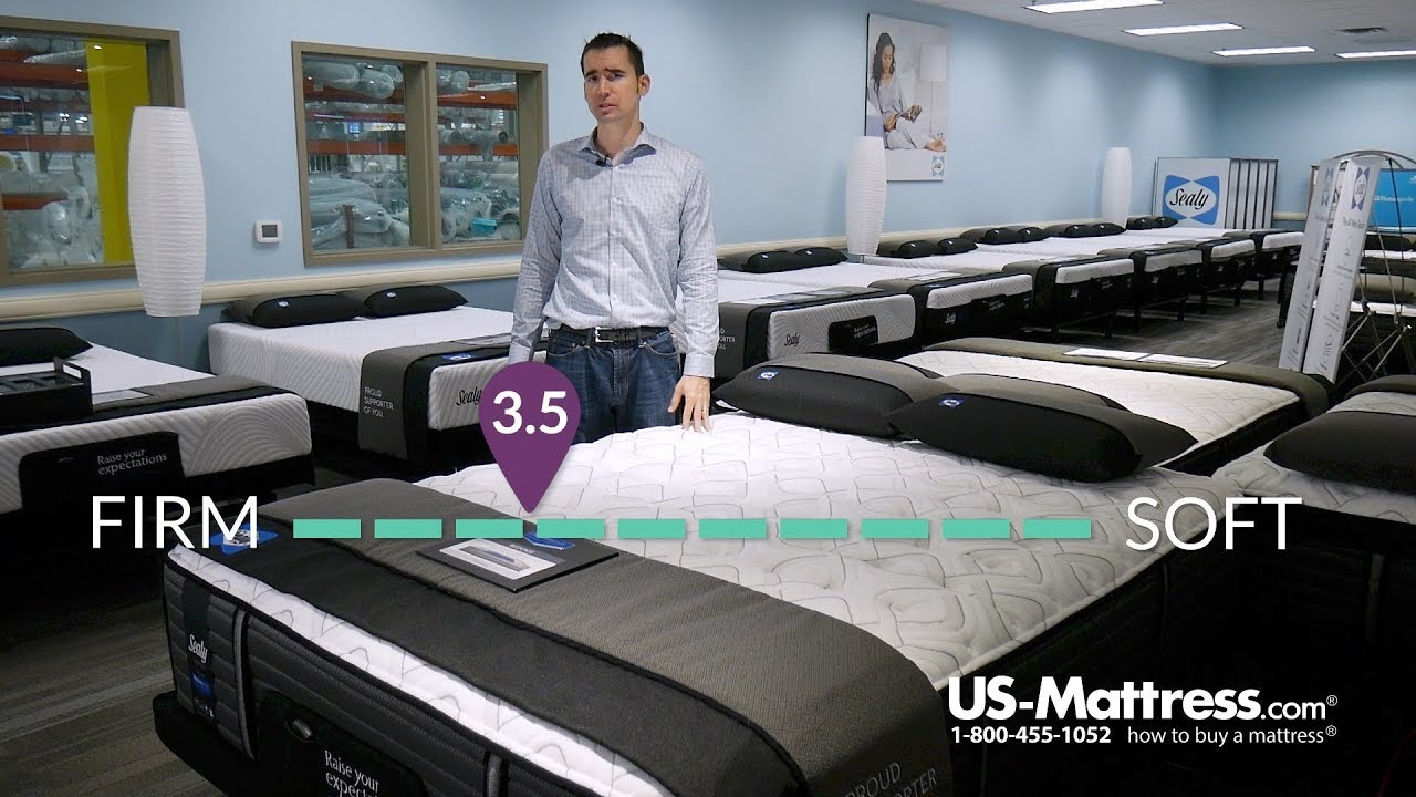 sealy posturepedic response premium barrett court iv cushion firm