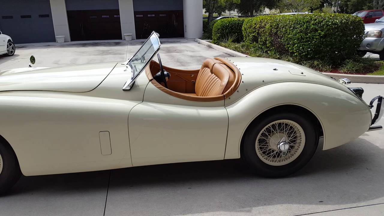 Jaguar XK120 ROADSTER 1953