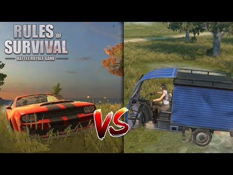DON'T MESS AROUND WITH THE NEW SPORTS CAR! Rules of Survival PC Gameplay