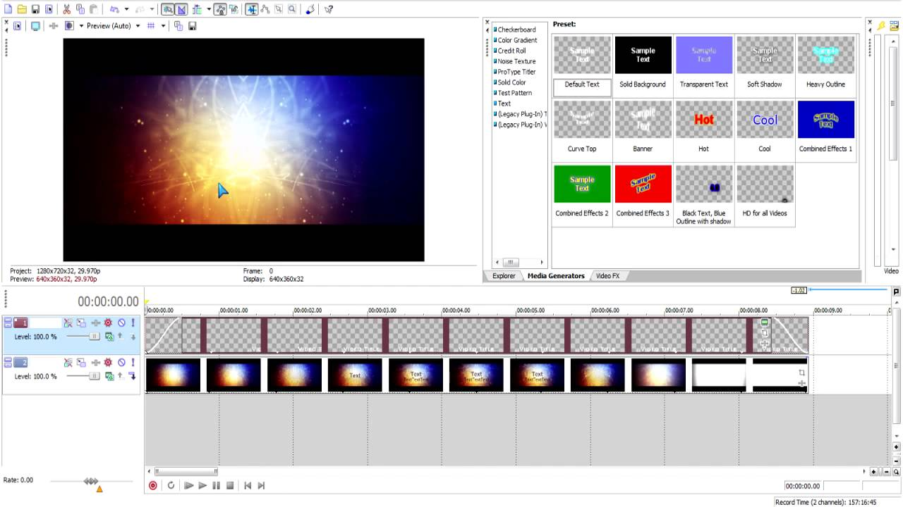sony vegas free project templates - sony vegas intro template free download 2 youtube