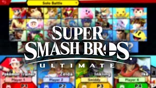 Every Character Revealed - Super Super Smash Bros. Ultimate | E3 2018