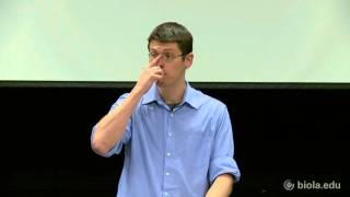 Adam Johnson: Silent No More: CS Lewis' Cosmological Theory of the Atonement [Torrey Honors Lecture]