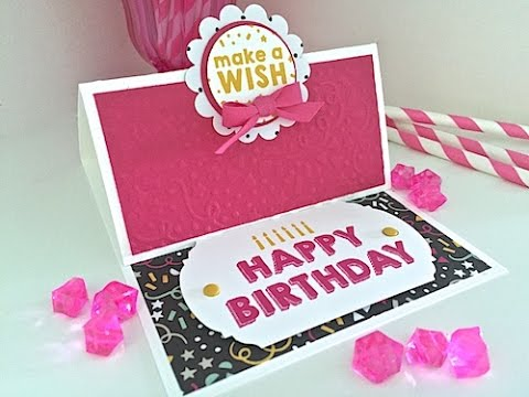 Simply simple flash card 20 happy birthday easel card by connie simply simple flash card 20 happy birthday easel card by connie stewart youtube bookmarktalkfo Gallery