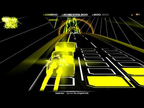 September - Cry For You [audiosurf]