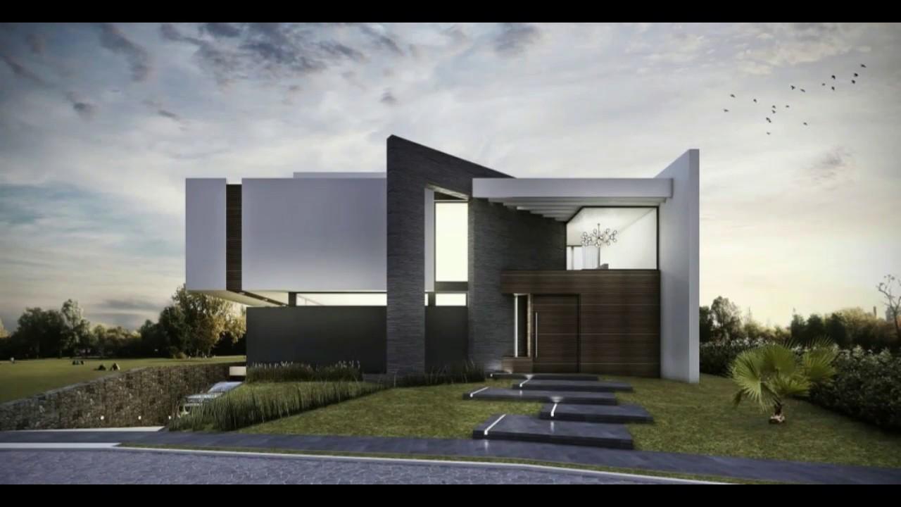 Casas minimalistas modernas en medio de la naturaleza for Casa minimalistas