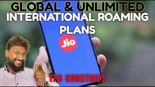 Jio International Roaming Plans for Prepaid | Reliance Jio Unlimited International Roaming plans