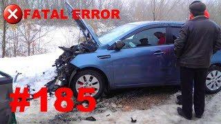 🚘🇷🇺[ONLY NEW] Car Crash Compilation in Russia (12 January 2019) #185