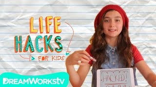 Smarter Phone I LIFE HACKS FOR KIDS(Life hacker Sunny is back and making your smart phone even smarter. From DIYing your very own speakers to keeping your headphones nice and tangle free, ..., 2015-01-18T20:00:10.000Z)