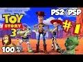 Disney's Toy Story 3 Walkthrough Part 1 - 100% (PS2, PSP) Level 1 - Western Playtime